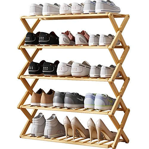 adq Shoe Rack Home Multifunction Folding Shoe Storage Small Free Instalación Simple Portable Folding Shoes Shelf Home Furniture
