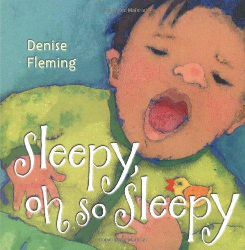 Sleepy, Oh So Sleepy: A Picture Book