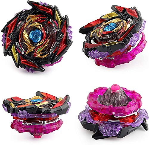 Peonzas, Beyblade, Burst Combat Gyro B-169 Boxed Creation God/Burst Gyro con Lanzador de Empuje Bidireccional (Red)