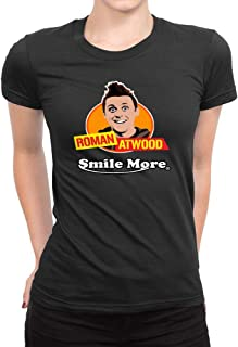 Women's Roman Atwood Smile More Short Sleeve T Shirt