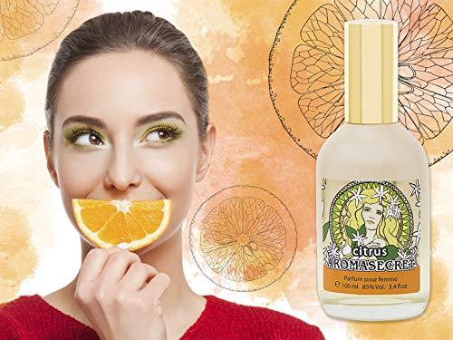 AROMASECRET  Perfume para Mujeres, frasco de 100 ML (3.4 Fl.oz.)  Una Concepción de Perfume NUEVA (CITRUS)