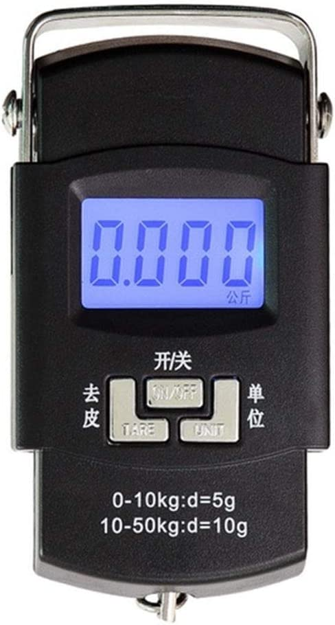 WCX 50kgTravel With Luggage Scale Display 5 ☆ very popular Digital LCD quality assurance Portable