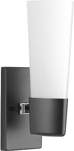 lowest Progress high quality Lighting P300061-031 Zura outlet online sale Bath & Vanity, Black sale