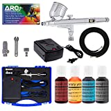 Master Airbrush Cake Decorating Airbrushing System Kit with a Set of 4...