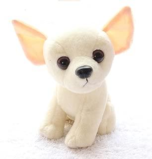 Stuffed Chihuahua Dog Puppy Toy Realistic Stuffed Animals by I-BEST