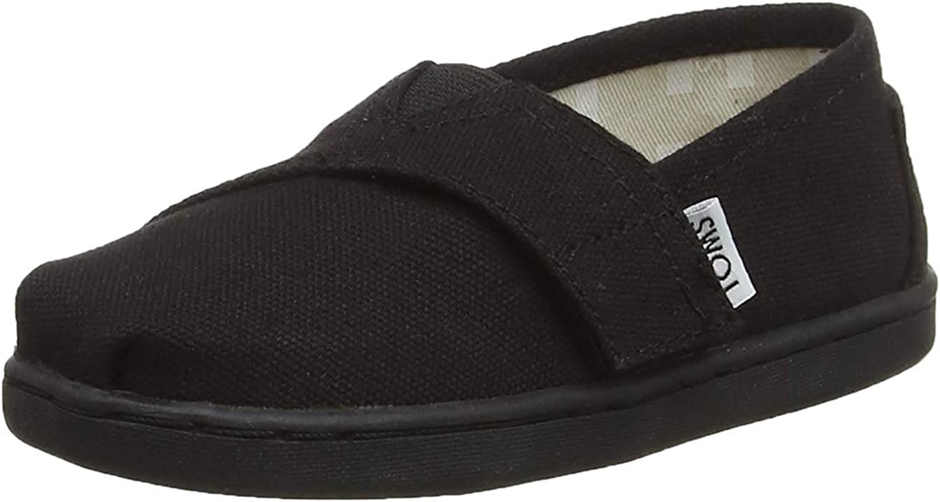 TOMS Blue Chambray Embroided Tiny 10009261