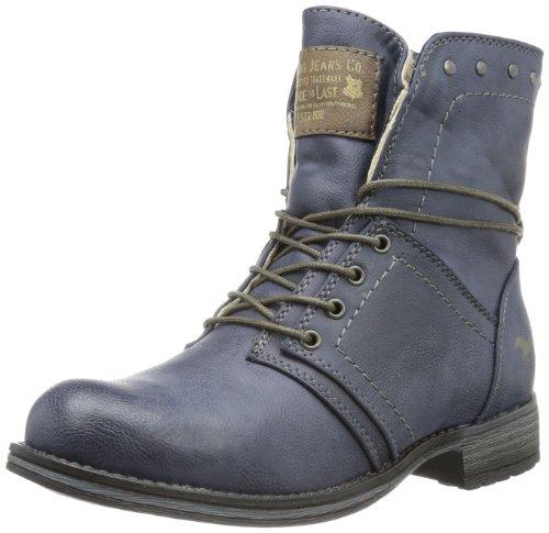 MUSTANG Mädchen 5026-601 Kurzschaft Stiefel, Blau (800 dunkelblau), 31