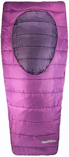 sacages Sac de Couchage Ovale Ouvert en Coton au Milieu du Sac de Couchage Chaud pour Camping