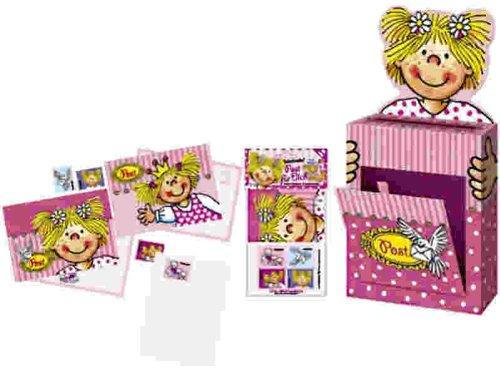 Briefkasten-Set Lotte inkl. 8 Postkarten und Spielbriefmarken