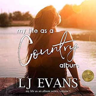 my life as a country album (my life as an album) audiobook cover art