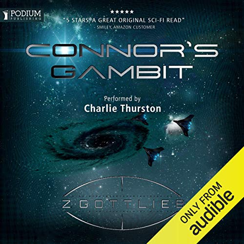 Connor's Gambit audiobook cover art