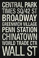 ERZANパズル300ピース地下鉄駅ニューヨーク市白黒
