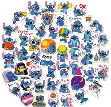 DSSJ Starcraft Baby Stitch Aufkleber Cartoon niedlichen Ausdruck Aufkleber Handy Wasser Tasse Notebook wasserdichte Aufkleber 50 Blatt