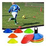 HEVÜY Markierungshütchen, Hütchen Fussball, Markierungsteller, für das Hütchen Training im...