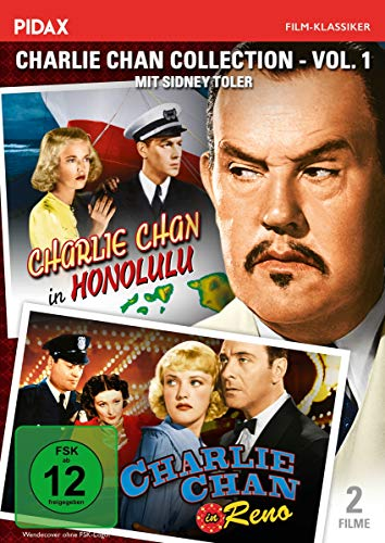 Charlie Chan Collection - Vol. 1 / Charlie Chan in Honolulu + Charlie Chan in Reno (Pidax Film-Klassiker)