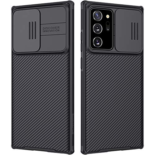 Nillkin Samsung Note 20 Ultra Case, CamShield Pro Slim Note 20 Ultra Protective Cover Case with Camera Protector Hard PC and TPU Ultra Thin Anti-Scratch Phone Case for Galaxy Note 20 Ultra 6.9'' Black
