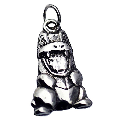 Prince of Diamonds Inc Real Sterling Silver 925 0301 Totodile Pokemon Pendant Charm Silver Jewelry