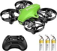 🎁 Profitez de plus de Temps de Plaisir: 3 batteries détachables et 3 niveaux de vitesse réglables offrent une expérience de vol excitante aux amateurs et aux pilotes expérimentés. 🎁 Rapide & Agile: Vous pouvez contrôler le vol du drone dans n'importe...