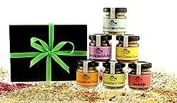 Exklusives Gourmetset mit 6 Gewürz-Spezialitäten in der Geschenkbox aus der Finca Marina Gewürzmanufaktur