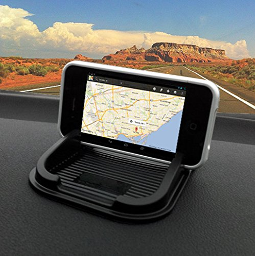 Ibroz - Supporto universale per smartphone, tablet, GPS da agganciare al cruscotto dell'auto, per iPhone 6, iPhone 5, 4, 4S, Samsung Galaxy S3, S4, S5 - Galaxy Note 3 / 4 HTC / Sony Xperia / Nokia Lumia / LG, Takara, Tomtom ...