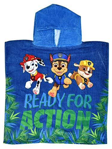 Disney Paw Patrol - Toalla de baño con capucha para niños
