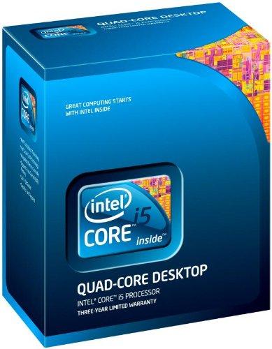 Intel Core i5-750 - Procesador (Intel Core i5-XXX, Socket H (LGA 1156), PC, i5-750, 64 bits, L3)