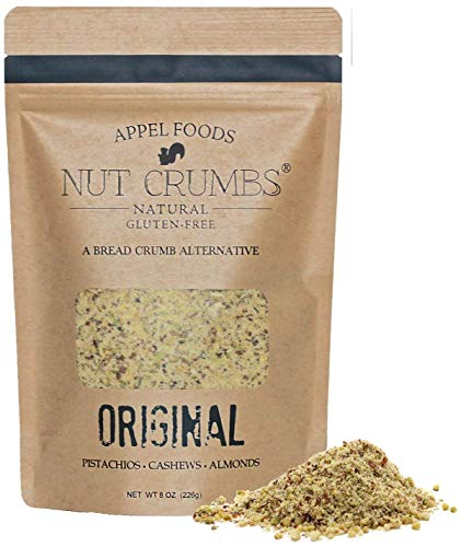 Appel Foods - Nut Crumbs - Bread Crumb Alternative - Gluten Free - Sugar Free - Low Carb - Low Sodium - Raw, Premium Nuts - Original