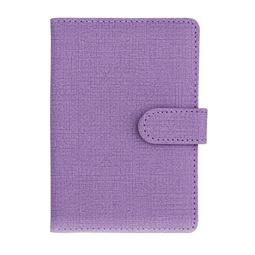 US Warehouse - Xennos DIY Craft Storage - New Travel Passport Cover Wallet Travels Multifunction Credit Card Package, ID Storage Organizer Clutch Money Bag#newg20 - (Size: M, Color: Purple)
