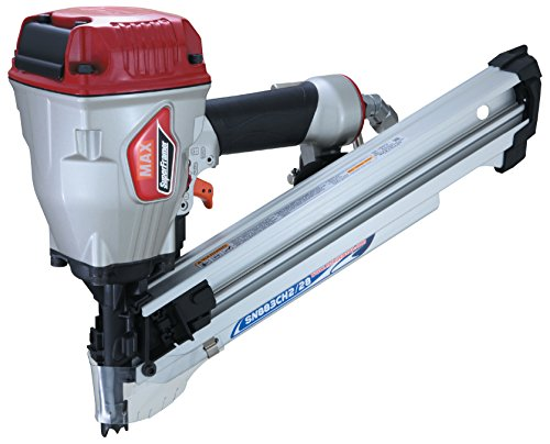 """MAX USA SuperFramer SN883CH2/28 28 Degree Framing Offset/Clipped Head Stick Nailer up to 3-1/4"""""""""""""""