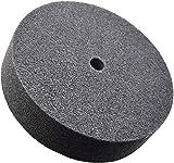 WKSTOOL 16 cm di diametro × 2 cm di larghezza, 7P, 180 # Grrit, fibra di nylon lucidatura Buffer mola disco abrasivo strumento (7 Px180 # Gritx18 mm, 6 Dx1 W)