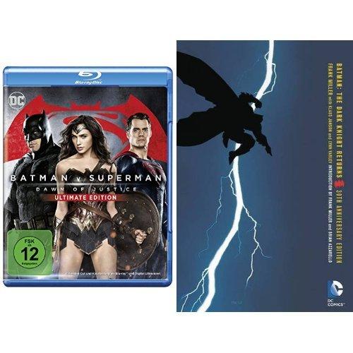Batman v Superman: Dawn of Justice – Ultimate Edition [Blu-ray] + Batman: The Dark Knight Returns 30th Anniversary Edition