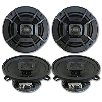 4 x Polk Audio 5.25  2-Way Car Audio Boat Marine ATV UTV Audio Coaxial Speakers 5-1/4