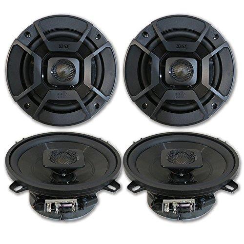 "4 x Polk Audio 5.25"" 2-Way Car Audio Boat Marine ATV UTV Audio Coaxial Speakers 5-1/4"""