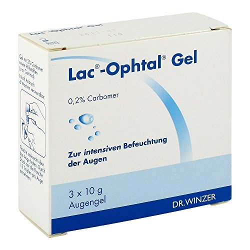 Lac Ophtal Gel, 3X10 g