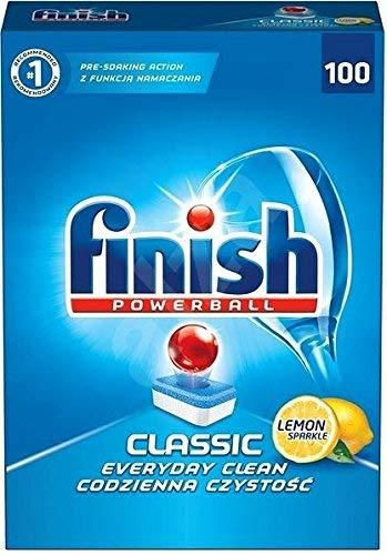 Finish Powerball Classic Geschirrspültabs (100 Stück) Lemon Sparkle