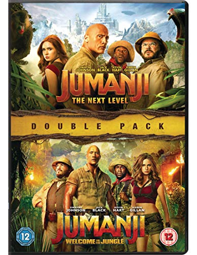 Jumanji: The Next Level / Jumanji: Welcome to the Jungle - Set [2 DVDs] [UK Import]