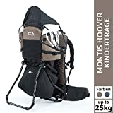 MONTIS Move, Zaino Porta Bimbo, Fino a 25 kg, 2180 g, Marrone