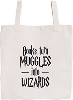 Canvas Tote Bag-Bookaholic Quote Collection-01