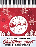 The Giant Book of Christmas Sheet Music-Easy Piano: (Book, Streaming Videos & MP3 Audio)