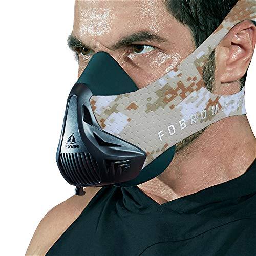 FDBRO Workout Mask-Sports Mask Fitness High Altitude Mask Training,Running