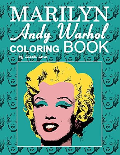 MARILYN Andy Warhol Coloring Book