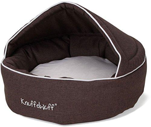 Knuffelwuff 13103 Höhlenbett Pumbaa, Größe - Durchmesser 70 cm, braun