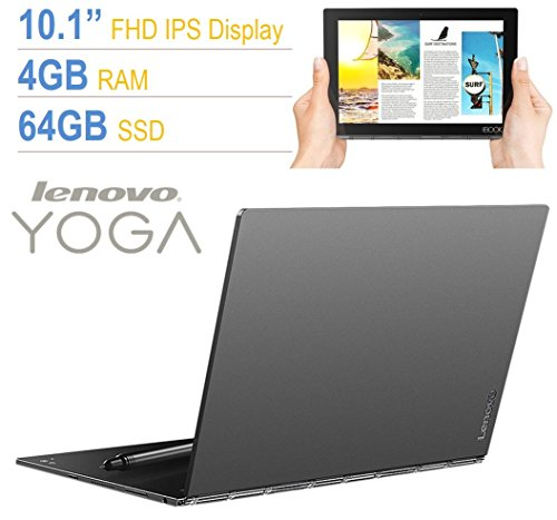 Lenovo Yoga Book 10.1' Full HD Touchscreen IPS (1920x1200) 2-in-1 Tablet PC, Intel Atom...
