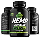 Hemp Oil Extract Capsules For Pain Relief & Anxiety...