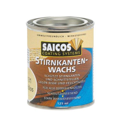 Saicos Colour GmbH 100 8131 Stirnkantenwachs, farblos, 0,125 Liter