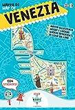 Mappa di Venezia illustrata. Con adesivi. Ediz. italiana e inglese...