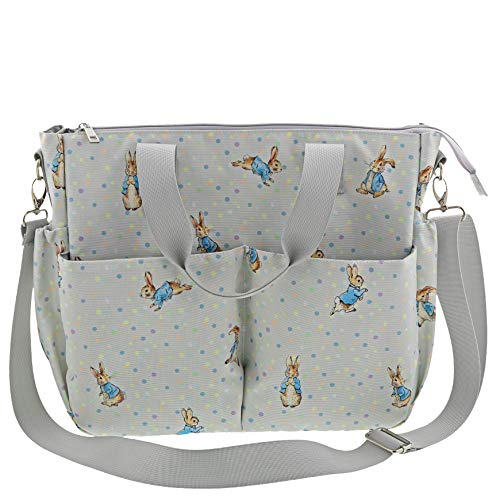Enesco Peter Rabbit Baby Collection Changing Bag, Light Blue, Womens