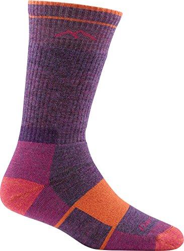 DARN TOUGH (Style 1908) Women's Hiker Hike/Trek Sock - Plum Heather, Medium
