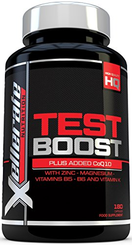Test Boost for Men |180 Capsules Testosterone Support Supplement |...
