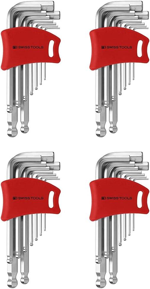 PB Mail order Swiss Tools 212DH-10 Ballend Super intense SALE set hex double 4 holder